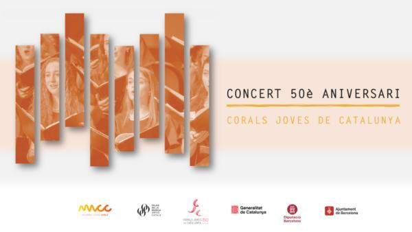 Concert 50è aniversari de la Federació Corals Joves de Catalunya @ Palau de la Música Catalana