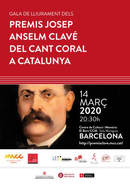 Premis Josep Anselm Clavé del Cant Coral a Catalunya @ El Born Centre de Cultura i Memòria